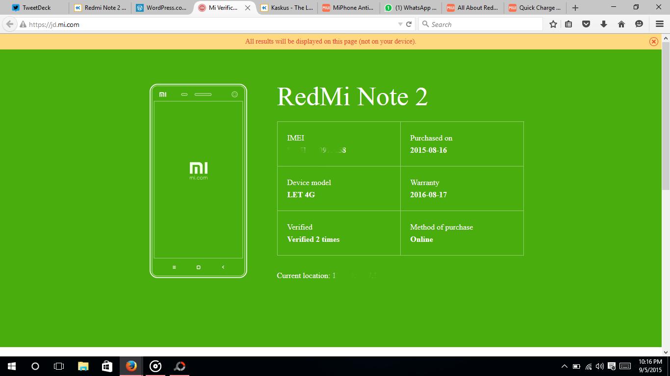 Pengalaman Membeli Xiaomi Replika Dan Tips Untuk